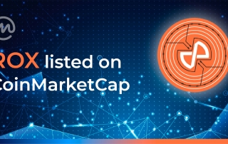 ROX token now listed on Coinmarketcap