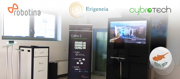 Erigenea project - Robotina hosting important technical meeting
