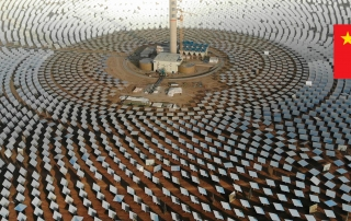 China's Molten Salt Solar Thermal Plant as a Global Technology