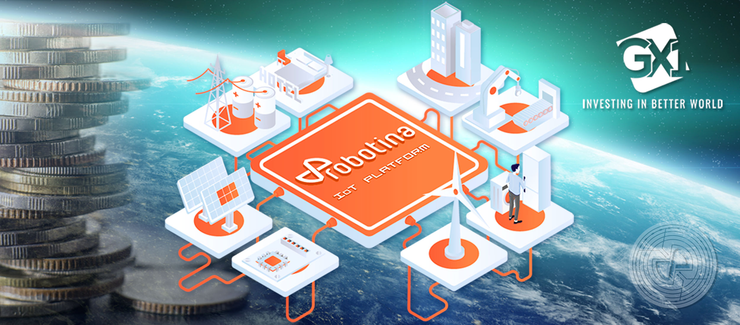 U.S. company GX1 invested in Robotina IoT Platform